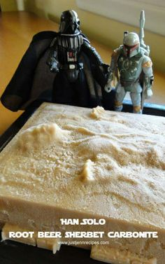 Han Solo in Root Beer Sherbet Carbonite