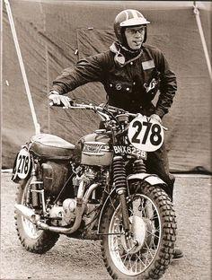 Steve Mcqueen & Triumph