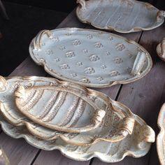 "600 Likes, 8 Comments - BrendaDanbrook (@bdanbrook_ceramics) on Instagram: ""Nesting #platters #pottery #stoneware #canadianceramics #yeg #yegart #yegfood #yegfoodie…"""