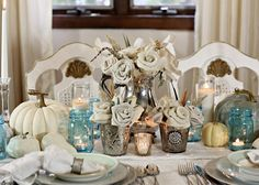 Shabby Sweet Cottage: A Fall Table