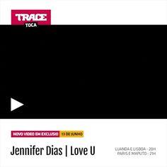 """Não perca amanha a grande estreia do novo video """"Love You"""" da Jennifer Dias no TRACE Toca, 20h Luanda/Lisboa e 21h Maputo/Paris.TRACE Toca A Paixão Da Musica! #tracetoca #estreia #jenniferdias @jenniferdias_official #apaixaodamusica #kizomba #zouk #new"""