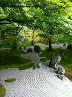 Small Japanese Garden, Japanese Garden Design, Chinese Garden, Garden Landscape Design, Garden Landscaping, Japanese Gardens, Japanese Style, Dry Garden, Garden Art