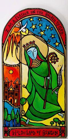 Hildegard of Bingen Dancing Monk
