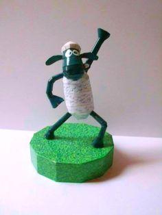 Shaun the Sheep Papercraft