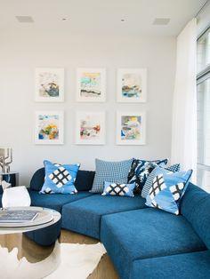 Wandfarbe Pasellgrün, Gemusterter Teppich In Schwarz Weiß Und Attraktive  Kissen   Sofas   Pinterest   Gemusterte Teppiche, Wandfarbe Und  Skandinavisch