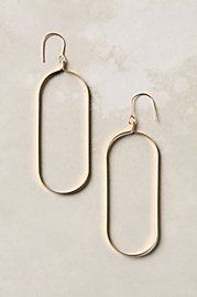 unique style can be captured by just one little thing that many people may not think to change - shape of simple gold earrings.
