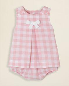Jacadi Infant Girls' Les Aquarelles de Bagatelle Madelon Dress & Bloomer - Sizes 1-12 Months | Bloomingdale's