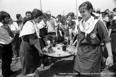 Paella-lehiaketa Aixerrotan / Concurso de paellas en Aixerrota, 1978 (Colección Kepa Urkiza) (ref. 03481)