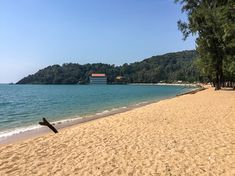Plenty of shade on this beach at Laem Sadet near Chao Lao with street food on the road; what better place to spend a few hours. Ocean Beach, Summer Beach, Koh Samet, Bangkok Travel, Pattaya, Street Food, Beaches, Boats, Ships