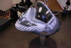 Full Helmet Paintball Mask Paintball Mask, Sports Equipment, Baby Car Seats, Helmet, Hockey Helmet, Helmets