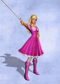 Barbie and the 3 Musketeers ~♥ - barbie-movies Photo