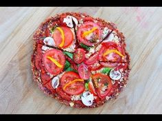 How to Make Raw Vegan Pizza! - YouTube