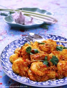 Christina Soong-Kroeger recreates her Grandmother's secret Sambal Udang recipe. Get the recipe on Honest Cooking today.
