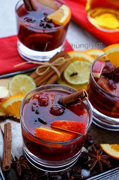 Xmas Food, Mulled Wine, Beverages, Drinks, Finger Foods, Liquor, Food And Drink, Herbs, Homemade