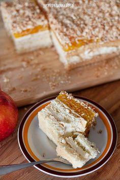 ciasto z jabłkami i kokosem