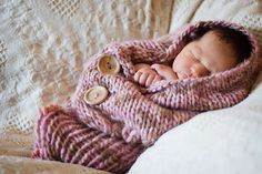 Ravelry: Button-Up Baby Wrap.