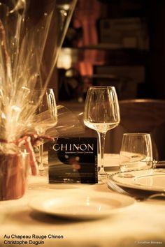 Salon des #Vins de #Chinon Au Chapeau Rouge
