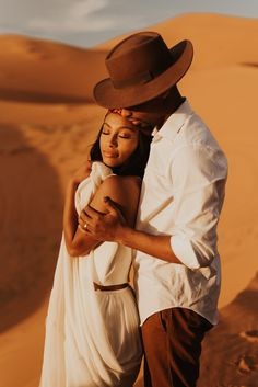 Destination Photographer Elope in the Sahara - Dallas Olga Photography Black Love Couples, Cute Couples Goals, Couple Posing, Couple Shoot, Couple Photography Poses, Family Photography, Couple Noir, Black Families, My Black Is Beautiful