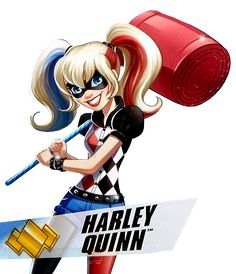 Resultado de imagen para harley quinn dc superhero girl
