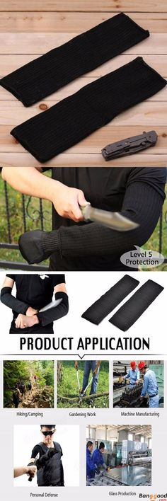 US$9.39 + Free Shipping.  Anti-cutting Sleeves. Application: gardening work, glass production, machine manufacturing, personal defense. Welcome to visit our website to see more. Many thanks for loving this item.