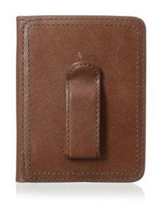 53% OFF Bosca Men's Faustino Front Pocket Clip Wallet (Brown)