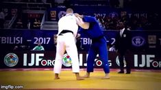I just love the slick way this high-level judokas performer the Tani-otoshi!