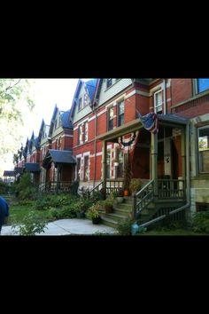 Historic Pullman neighborhood Chicago, IL.