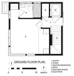 Tower House,Plan