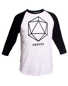 db2b4f52898 Odesza Shirt Crewneck Sweatshirt 3 4 Sleeve Raglan EDM Shirt - EDC Shirt -  Electronic