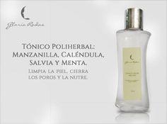 El TÓNICO POLIHERBAL GLORIA RODAS, producto fundamental en la limpieza diaria de TU piel, precio $ 22.000. Pídelo ya 3007875465 y 2654295.