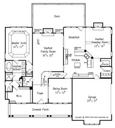 1000 images about homes i love on pinterest house plans for House plans with keeping rooms