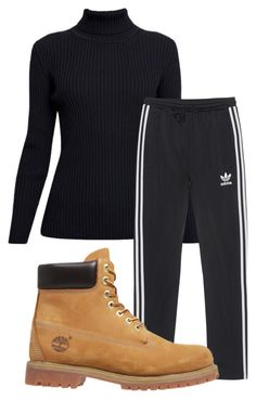 """""""✨"""" by rabiamiah on Polyvore featuring Rumour London, adidas Originals and Timberland"""