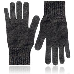 PELLO London - Lambswool Gloves Grey ($65) ❤ liked on Polyvore featuring men's fashion, men's accessories, men's gloves, mens grey leather gloves and mens gray leather gloves