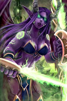 Demon Hunter - Warcraft by Adyon.deviantart.com on @DeviantArt