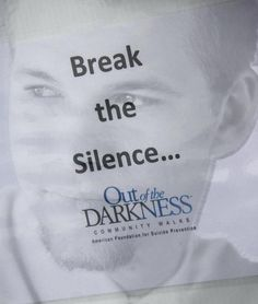 Suicide - End the darkness!  RIP Logan 3/9/93 - 9/7/11