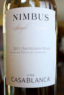 Vina Casablanca Nimbus Single Vineyard Sauvignon Blanc 2011 - Tour of Chile Part 2 (Chilean Coast Whites) $10
