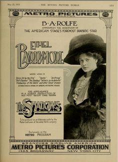 Ethel Barrymore - 'The Shadows'