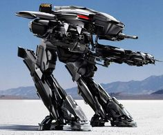 New ED 209 revealed at ComiCon 2013?