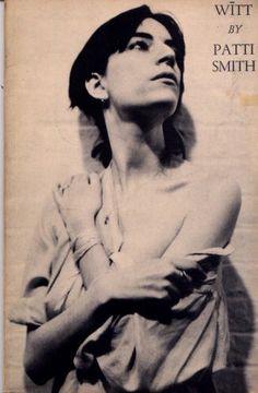 Witt by Patti Smith (1973). Poetry.