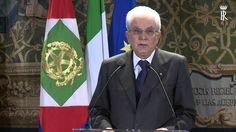 Intervento Presidente Mattarella - partecipanti alla riunione Plenaria d...