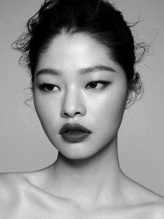 "stupid-dickheads-everywhere: "" Kim Ah Hyun photographed by Jung Ki Rock for Singles Korea May 2017 """