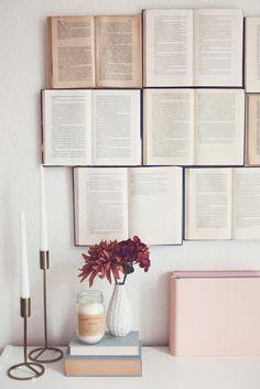 DIY Bücherwand // Open Books Headboard