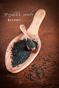 Kalonji aka Nigella seeds and a recipe for roasted butternut squash parathas sprinkled with them