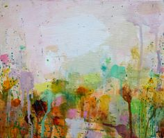 Drenched Spring II, 25x30cm, acrylic on canvas £295 Sandy Dooley