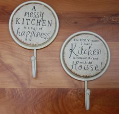 Décor & Accessories - Bay Tree Home & Decor Kitchen Hooks, Messy Kitchen, Decorative Accessories, Decorative Plates, Things To Come, Bathroom, Home Decor, Washroom, Decoration Home
