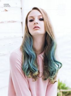 I think I found my new hair color.