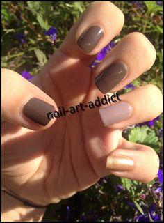 Nail Art : Gradient d'Automne http://nail-art-addict.blogspot.fr/2014/11/nail-art-gradient-dautomne.html