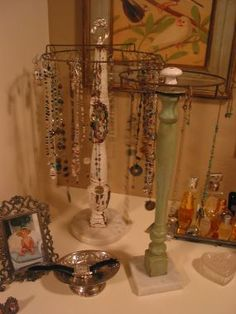 Recycled Treasures Jewelry Carousels