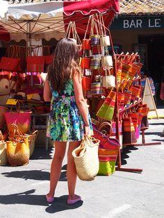 provencal markets | Provencal Market, Eygalieres - Vicki Archer