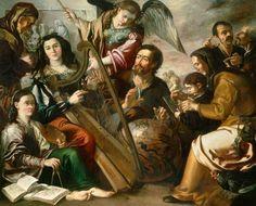 Miguel March (1633 - 1670) - Alegoría de las Artes Liberales